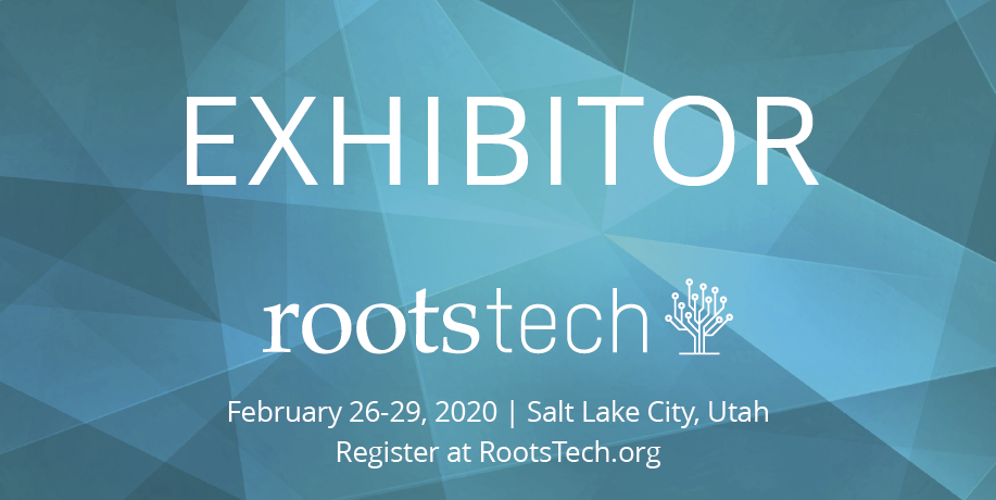RootsTech 2020 Exhibitor